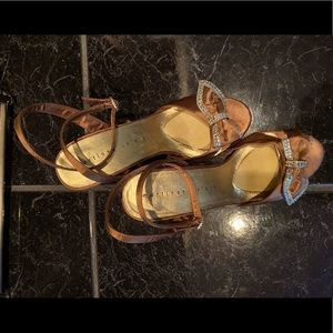 Adorable Dress Heel 2.5 inch height.  Size 8